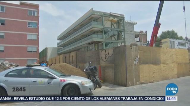 Inicia segunda etapa de demolición del Colegio Rebsamen
