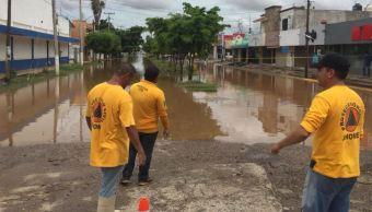 Lluvias en Sinaloa dejan inundaciones