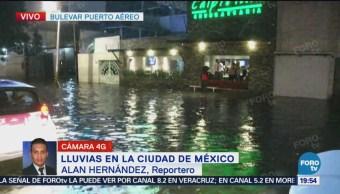 Inundaciones Colonia Moctezuma Cdmx Lluvias Encharcamientos