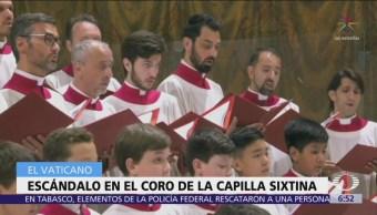 Investigan al Coro de la Capilla Sixtina por corrupción