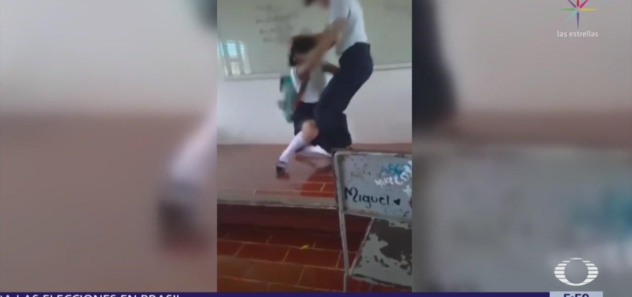 Investigan pelea entre alumnos en Quintana Roo