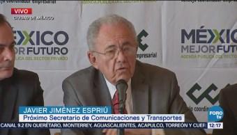 Javier Jiménez Espriú se reúne con representantes CCE