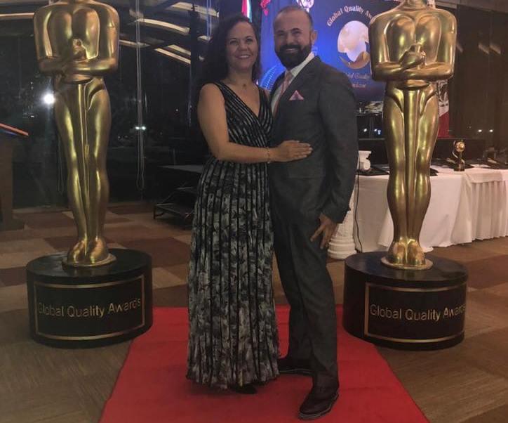Jesús Barba recibe reconocimiento Global Quality