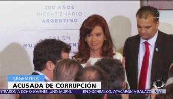 Juez Argentina ordena prisión preventiva Cristina Fernández