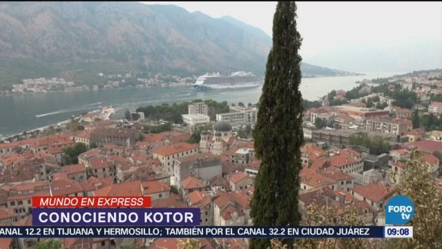 Kotor, ciudad fortificada en las costas de Montenegro