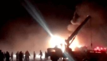 Accidente en Irán deja alrededor de 20 muertos