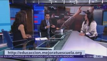 Lanzan convocatoria Educacción, mejora tu escuela