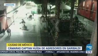 Cámaras Captan Huida Agresores Garibaldi