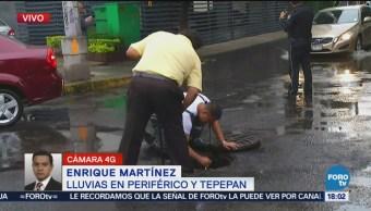 Policía Logra Desalojar Agua Tepepan