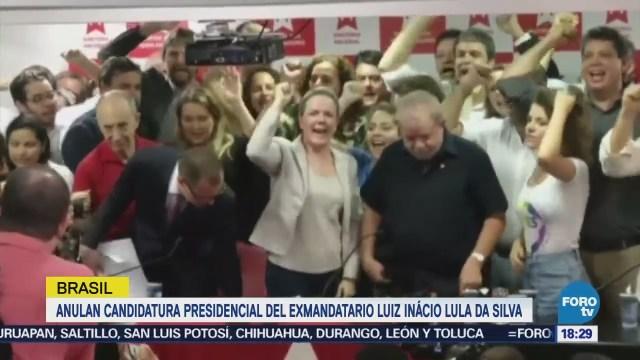 Rechazan Candidatura Lula Da Silva Tribunal Superior Electoral De Brasil