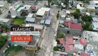 Huellas Destrucción Delegación Tláhuac
