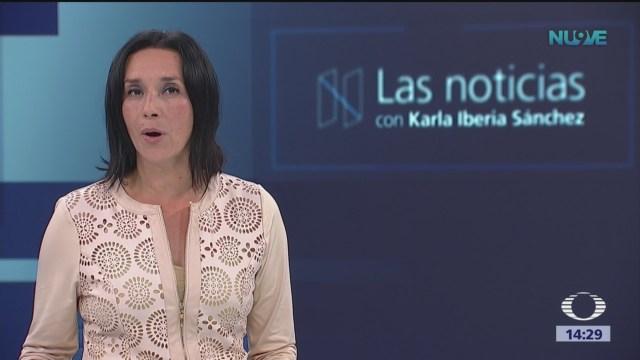 Las Noticias, con Karla Iberia: Programa del 12 de septiembre de 2018
