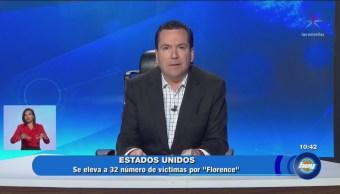 Las noticias con Lalo Salazar en Hoy del 18 de septiembre
