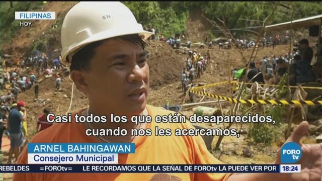 Tifón Mangkhut Deha Daños, Muertos Desaparecidos Filipinas