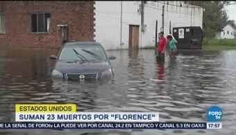Van 23 Muertos Efecto Florence