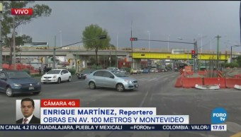 Obras Cien Metros Montevideo Flujo Vial