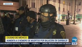 Aumenta 5 Número Muertos Balacera Garibaldi