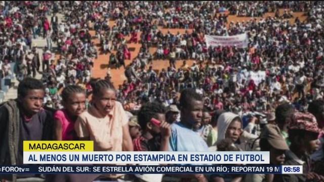 Estampida Estadio De Futbol Madagascar Deja Un Muerto