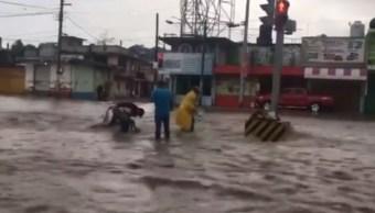 Lluvias en Veracruz seguirán este fin de semana