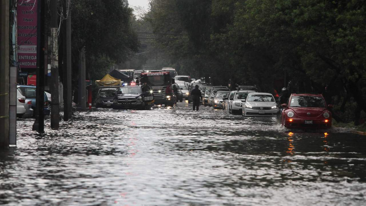 Lluvias en México; alerta por dos zonas de inestabilidad