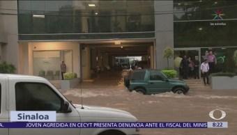 Los Mochis, Sinaloa, se encuentra en un 80 inundado