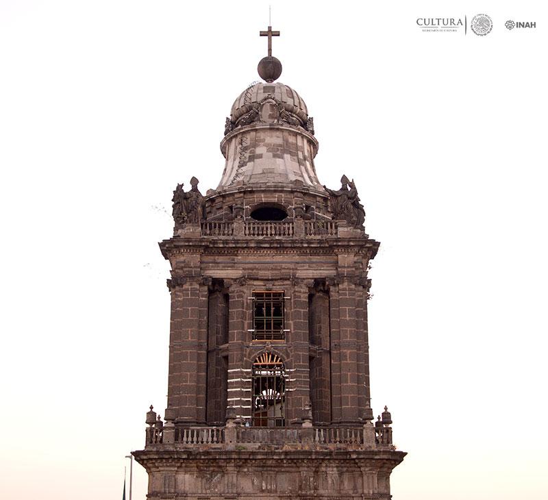 La Catedral Metropolitana continúa con su rehabilitación