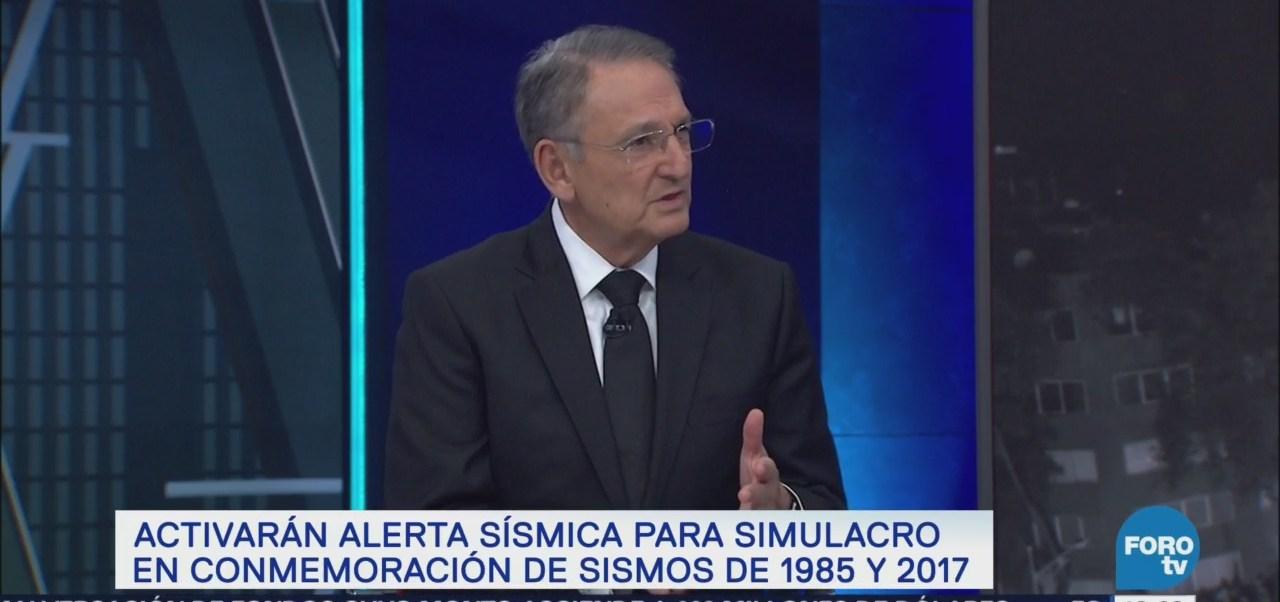 Luis Felipe Puente, Coordinador De Protección Civil, Detalla Simulacros
