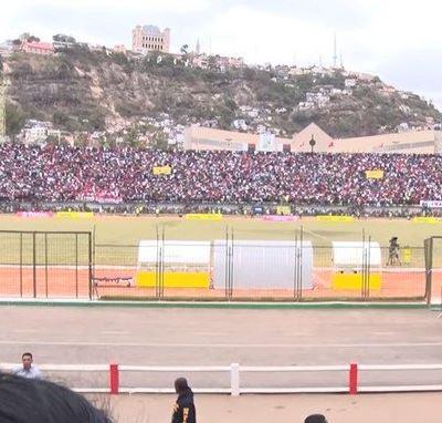 Estampida en un estadio en Madagascar deja un muerto y 37 heridos