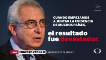 Zedillo Reconoce Política Equivocada Antidrogas Narcotráfico