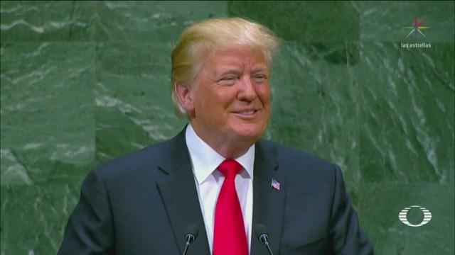 Donald Trump Hazmereir Asamblea General de ONU