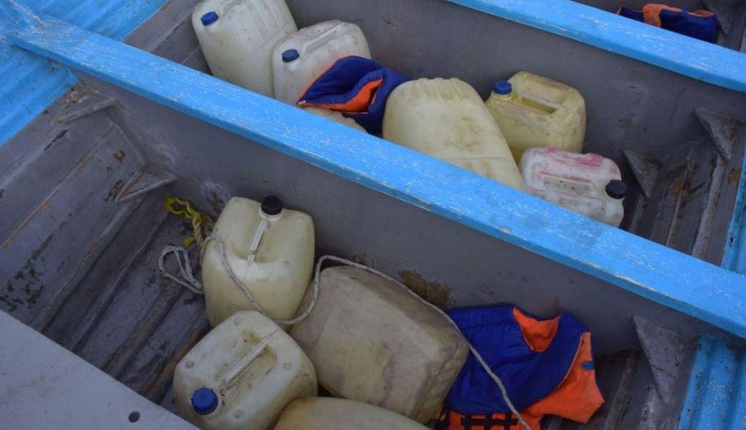 Semar decomisa gasolina robada en Colima