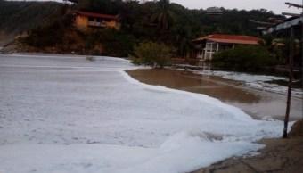 Clima Oaxaca; emiten alerta preventiva por mar de fondo