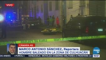 Asesinan Hombre Zona Culhuacán CDMX Crimen