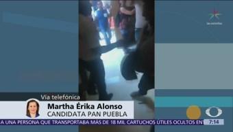 Martha Érika Alonso confía que mantendrá triunfo electoral