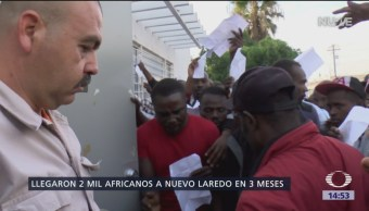 Más de dos mil africanos han llegado a Tamaulipas