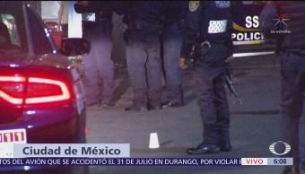 Matan a hombre en paradero del Metro Chapultepec, CDMX