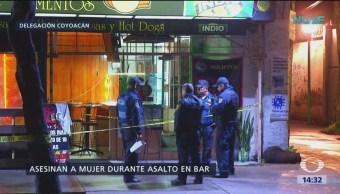 Matan a mujer por oponerse a asalto en Coyoacán