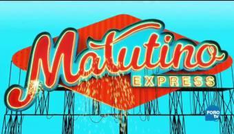 Matutino Express del 25 de septiembre con Esteban Arce