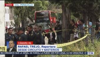 Metrobús atropella a peatón en Circuito y Misterios