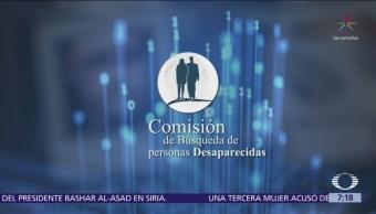 México conforma base de datos de personas desaparecidas