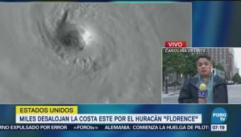 Miles evacuan la costa este de EU por huracán 'Florence'