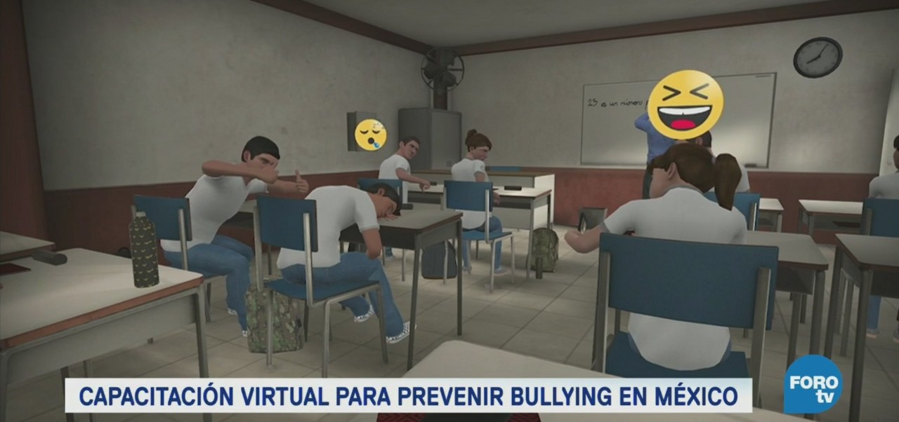 Misión Paz Escolar, Capacitación Virtual Evitar Bullying