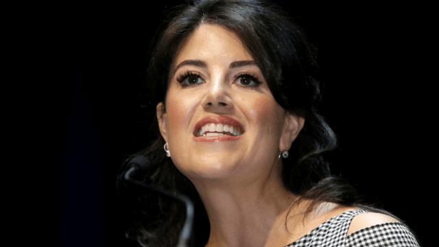Lewinsky abandona entrevista al ser preguntada por Clinton