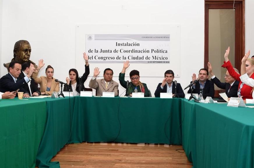 Morena se apodera del Congreso de la Ciudad de México