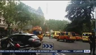 Muere Trabajador Obras Hotel Ritz Madrid España
