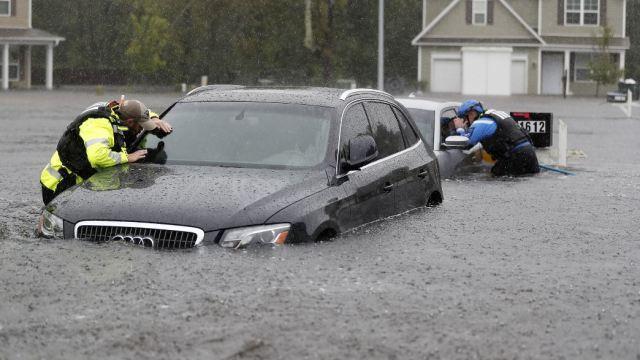 Muertos por huracán 'Florence' aumentan a 18