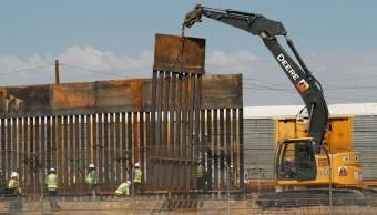 Inicia construcción del muro entre EU y Ciudad Juárez, Chihuahua