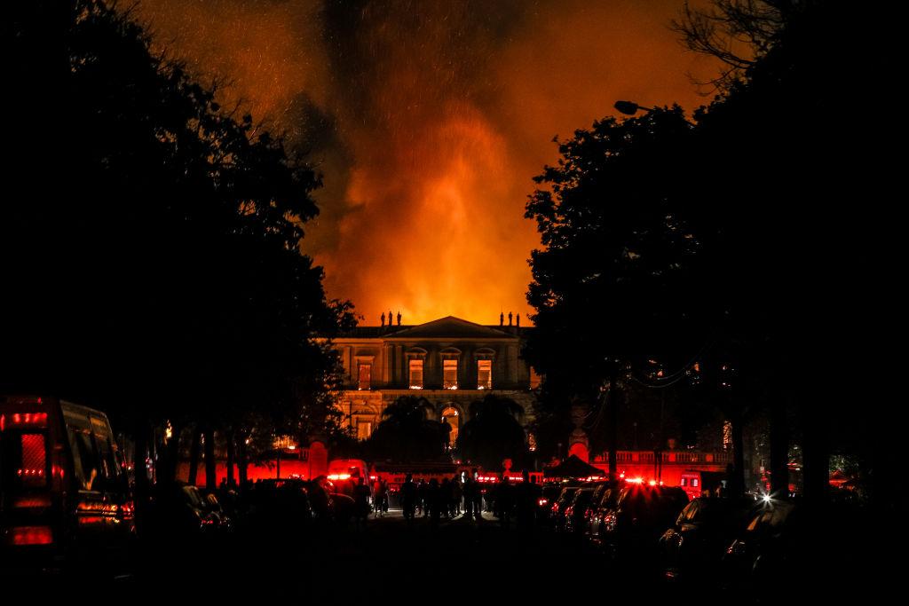 Brasil mejorará la seguridad de sus museos después del incendio en Río
