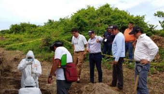 No hay cráneos de niños en fosas de Veracruz