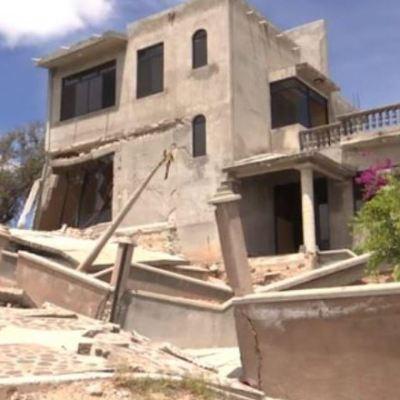 Grieta afecta viviendas en región de la Mixteca de Oaxaca